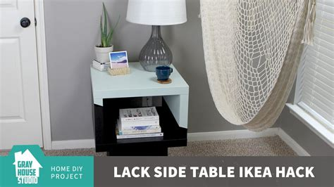 ikea end table hack lack side table ikea hack