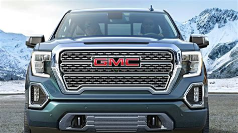 2019 Gmc 1500 Duramax by 2019 Gmc Denali Diesel Power And Carbon Fiber Bed