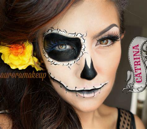 tutorial makeup catrina catrina tutorial inspirada en duende youtube