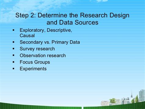 Mba Marketing Research by Marketing Research Ppt Mba