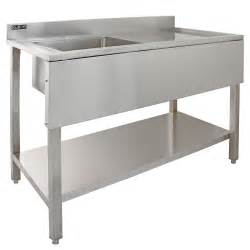 commercial sink stainless steel catering kitchen single
