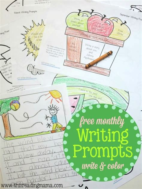 how to use creative writing prompts business building books free monthly writing prompts write and color