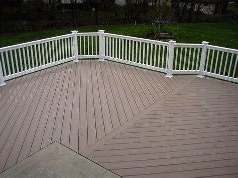 pvc decke wood decks pvc vs wood decks