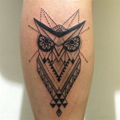owl tattoo totem owl mandela sacredgeometry tattoo inked