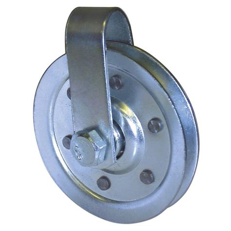ideal security 3 in pulley with fork and bolt sk7113