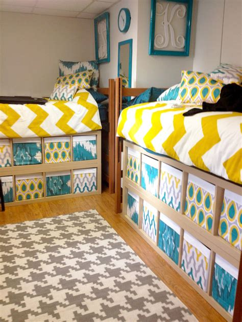 Ikea Bed Risers by Dorm Room Decorating 101 L Antonetti Design