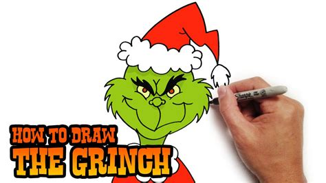 how to draw grinch youtube how to draw the grinch easy art lesson youtube