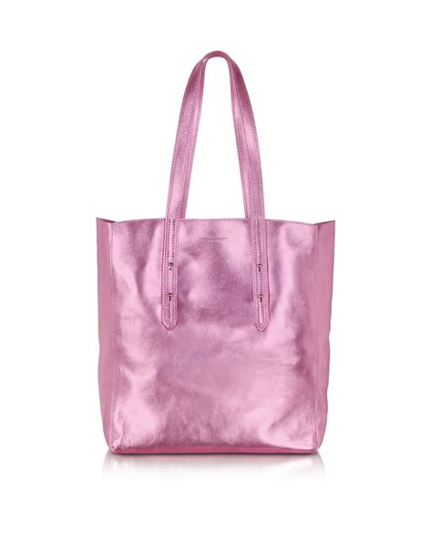 Loyd Maish Metallic Tote 2 by Aspinal Essential Pink Metallic Tote In Pink Lyst