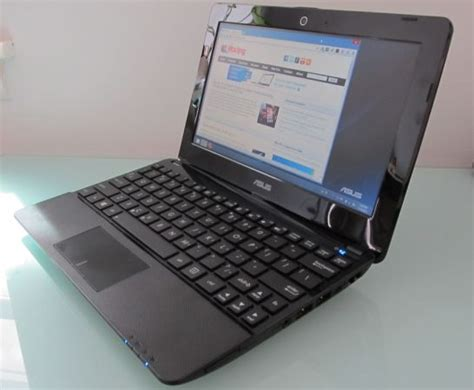 Laptop Asus Eeepc 1015e Cy027d asus 1015e review 10 inch notebook with a celeron 847 cpu liliputing