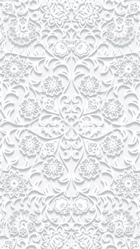 pattern lock background white filigree pattern iphone phone wallpaper background
