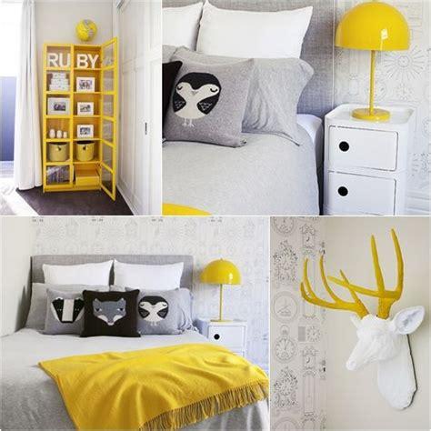 chambre jaune et gris d 233 co chambre jaune et gris