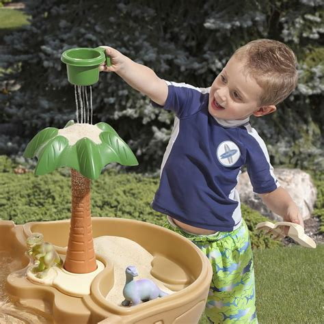 2 water sand table dino dig sand water table sand water play step2