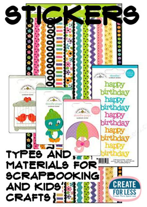 Paper Craft Kits For Adults - stickers paper craft decor for and adults