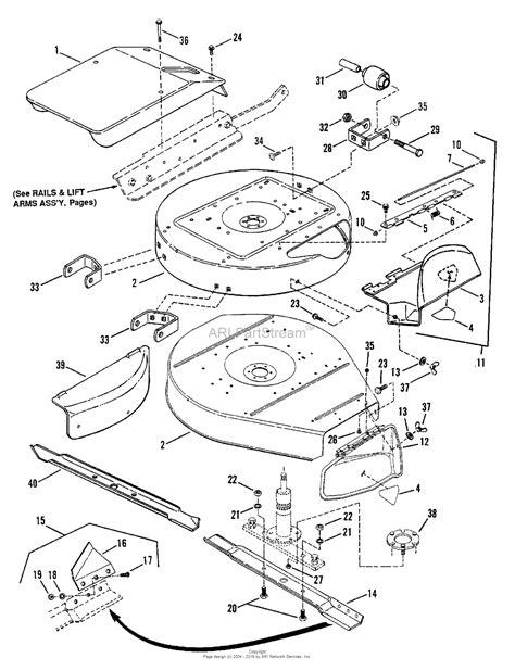 snapper parts diagram snapper 301013be 30 quot 10 hp rear engine rider series 13