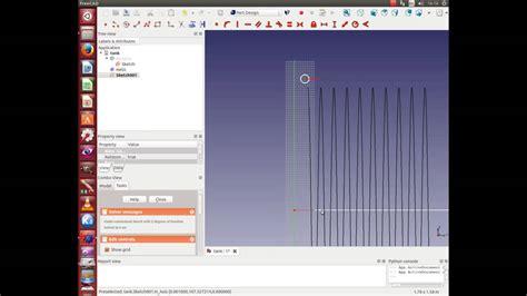 tutorial sweep autocad freecad 0 14 tutorial sweep helix youtube
