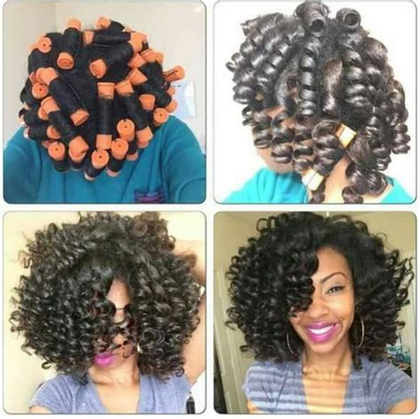 pictures of hair rolled on small rods 1000 images about hair rollers on natural hair on