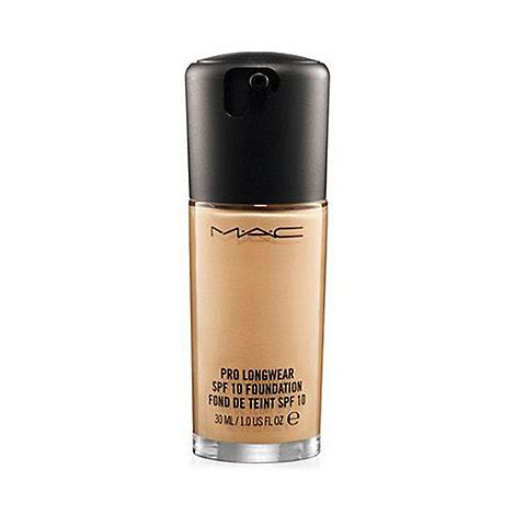 Mac Pro Longwear Foundation mac cosmetics pro longwear spf 10 foundation debenhams