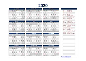 printable  canadian calendar templates  statutory holidays