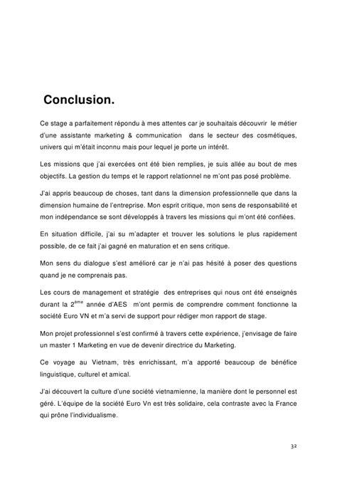Introduction Rapport De Stage Exemple