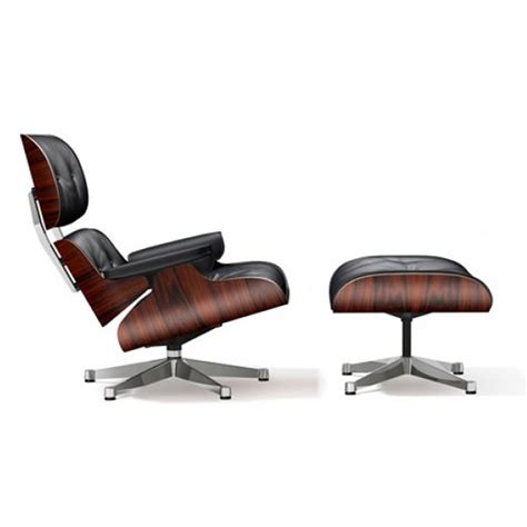 Lounge Chair Ottoman Prix by Fauteuil Vitra Eames Lounge Chair Ottoman Premium Nero