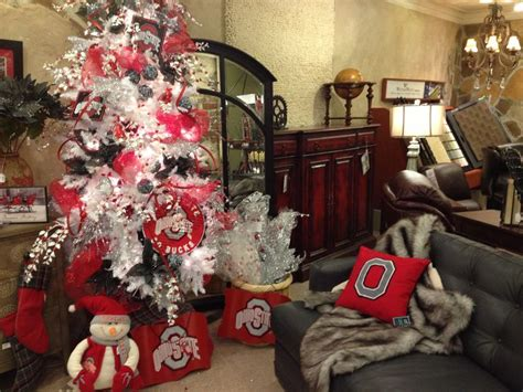 ohio state christmas tree and decor ohio state kool