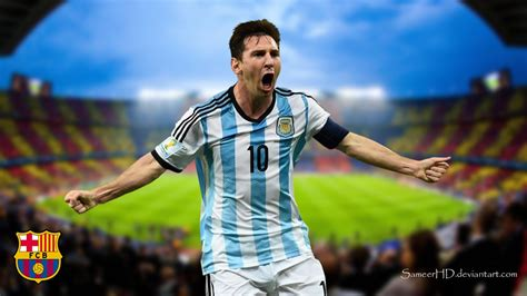 lionel messi fc barcelona biography fc barcelona lionel messi wallpaper by sameerhd