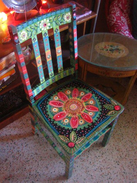 Painted Armchair by Painting It Painted Chairs