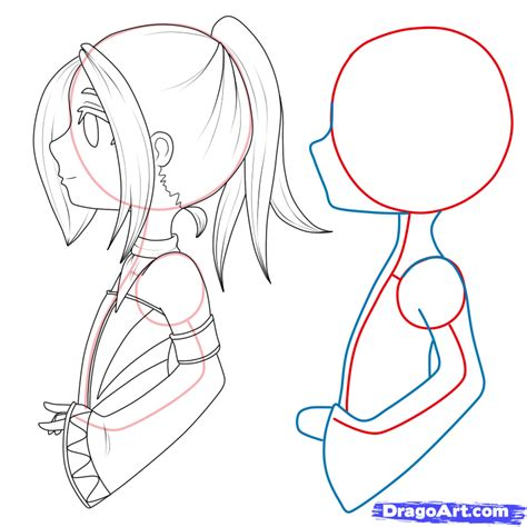 how to draw anime step by step how to draw chibi step by step chibis draw chibi
