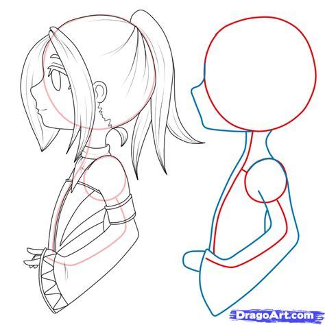 tutorial gambar anime chibi how to draw chibi manga step by step chibis draw chibi