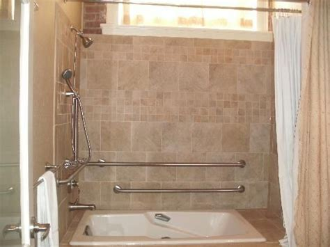 Jet Tub With Shower Sunken Jetted Tub Shower Combo Shower It Can Be