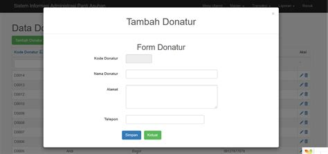 design form in yii validation create form input using modal in yii2 is