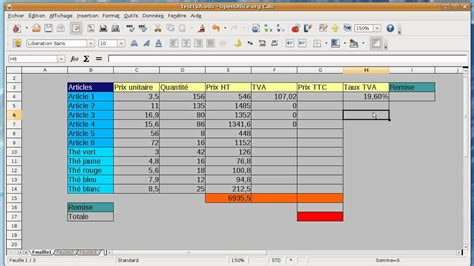 faire un diagramme avec open office writer tuto d 233 butant tableur open office calc