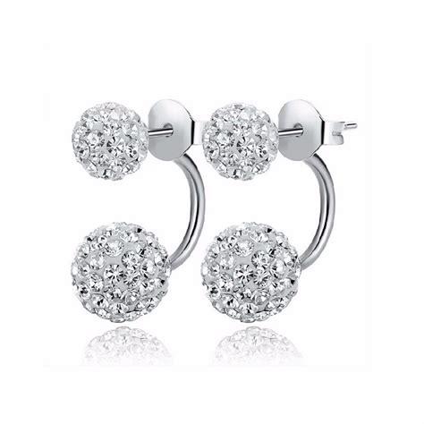 Ojjulet Fashion Stud Ojjulet Fashion buy high quality side earrings fashion disco shamballa stud earrings for
