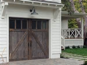 barn door style garage doors barn wood garage doors in marin county traditional