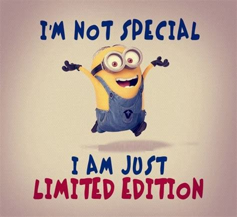 Special Edition Banner Minion limited edition minion quote pictures photos and images for and