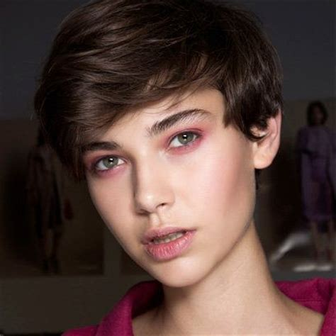 high cheekbones short hair 17 best images about minimal beauty looks on pinterest