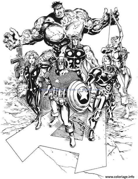 Coloriage Avengers 295 Dessin