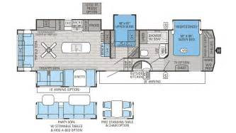 jayco 5th wheel rv floor plans 2016 jayco eagle 355mbqs fifth wheel