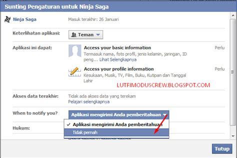 fb aplikasi menghapus pemberitahuan aplikasi fb