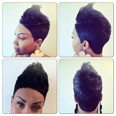 pictures of black hair style short 27 piece short 27 piece quickweave hair pinterest the o jays