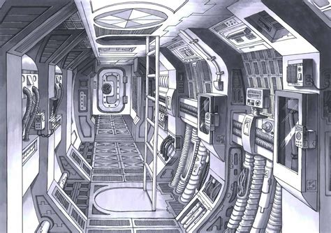 sealed spaceships spaceship interior design