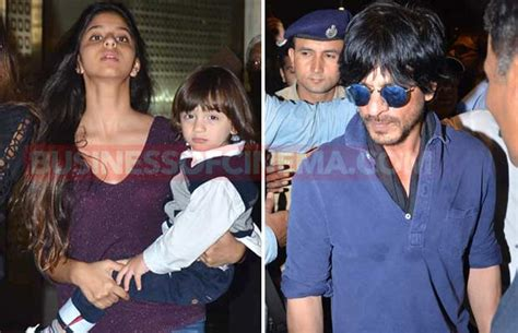 Airport Diaries: Shah Rukh Khan And Family Back From New ...