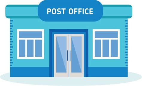 post office clip vector images illustrations istock