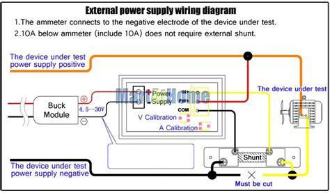 wiring diagram ammeter sunpro voltmeter voltmeter