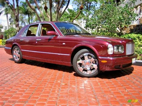 2001 Burgundy Bentley Arnage Red Label 55019277