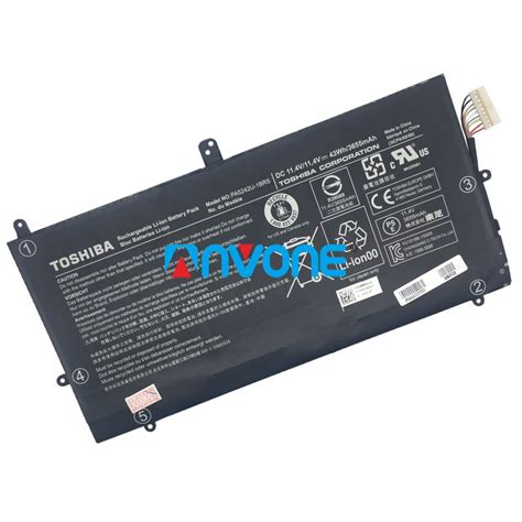 Toshiba Netbook Nb500 Nb505 Nb520 Pa3820u Hi Capacity 6 Cell pa5242u 1brs battery for toshiba satellite radius 12 p20w