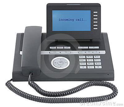 tel 233 fono negro moderno de la oficina de asunto