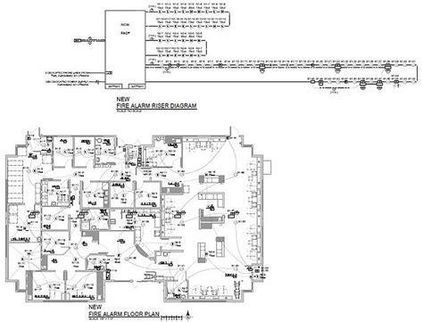 alarm riser diagram new alarm system floor plan and riser diagram by