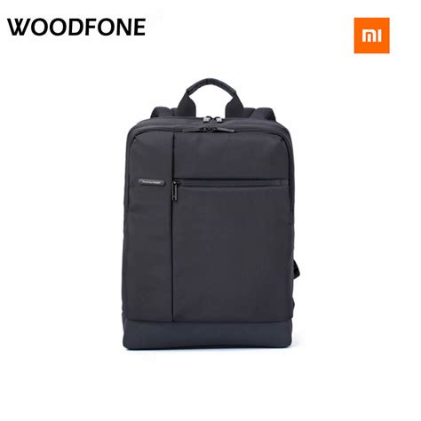 original xiaomi classic business backpacks bag backpack large capacity students business