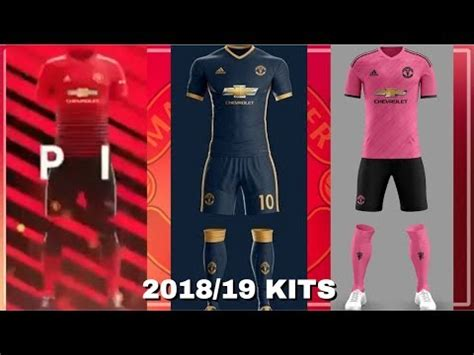 Tshirt Kaos Manchester United Mufc manchester united 2018 19 home away third kits leaked